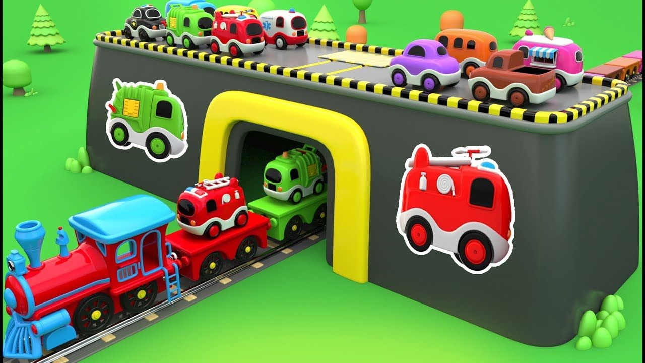 Colors for Children to Learn with Toy Street Vehicles - Educational ...