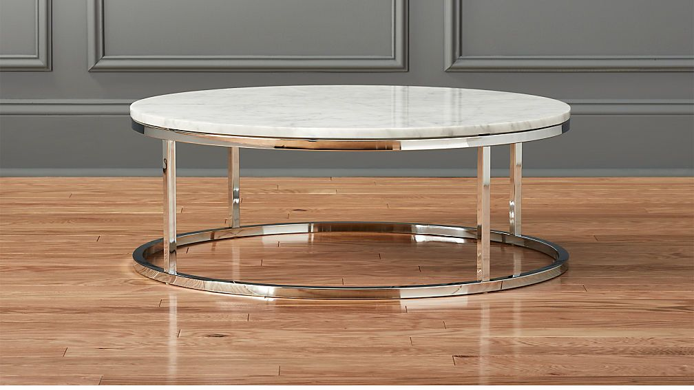 Smart Round Marble Top Coffee Table Reviews Marble Top Coffee