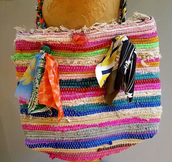 This Chindi Rag Rug Bag Is The Most Colorful Shoulder Bag