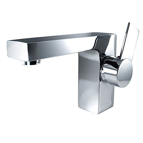 Bathroom Faucets Diy Fresca Bath Fft1053ch Isarus Single Hole