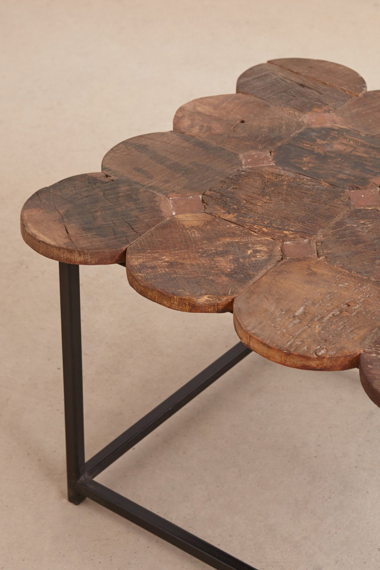 Wood Circles Coffee Table Anthropologie