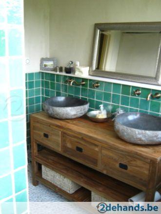 Marokkaanse badkamer tegels | Badkamer | Pinterest