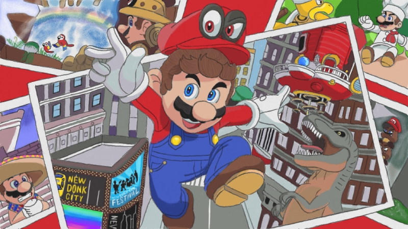 Pin by nataliepthatsme on super mario odyssey for Super mario odyssey paintings