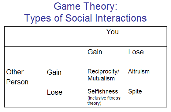 Social Interactions Game Theory Social Interaction Sociology Class