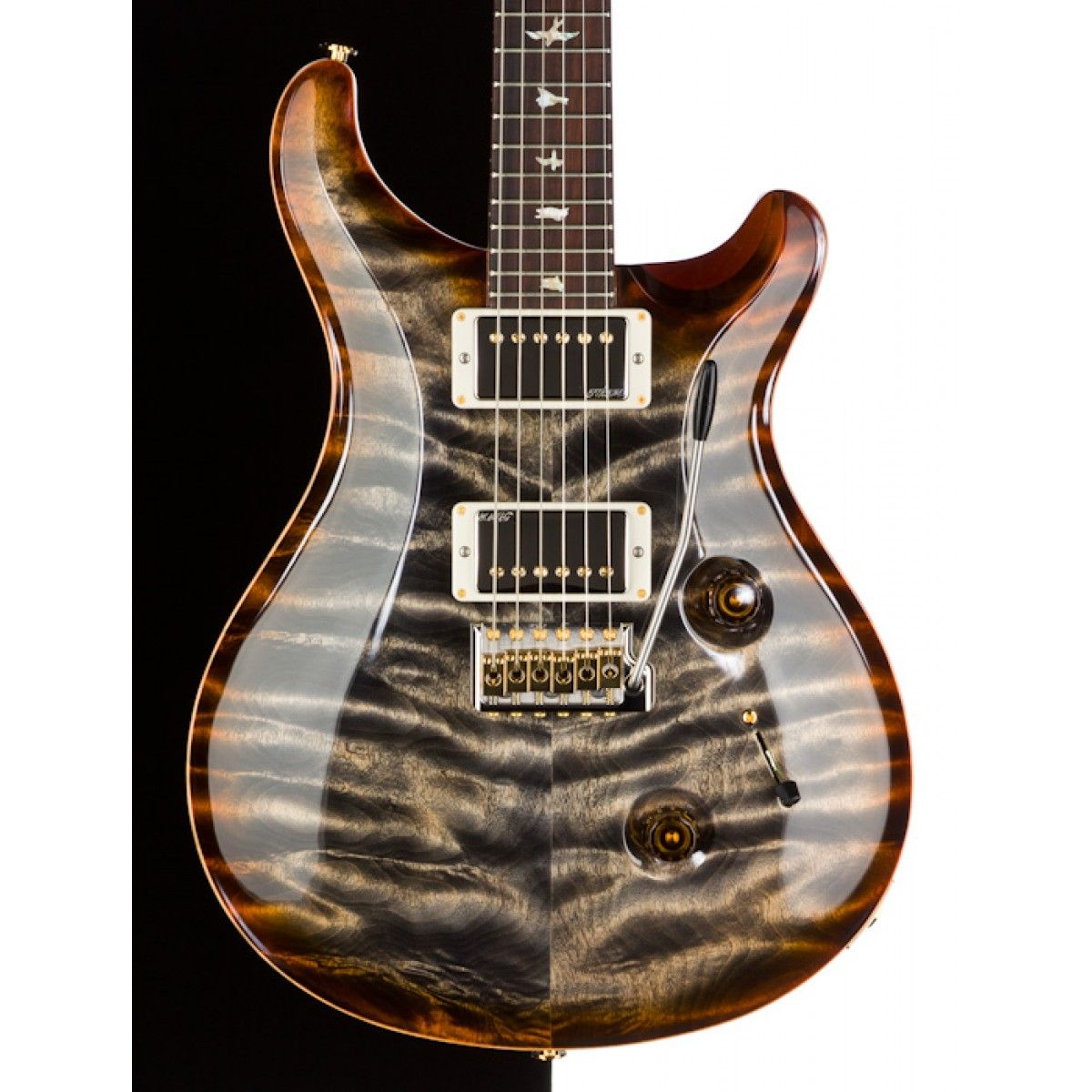 2013 MSL Limited Run PRS Custom 24 Artist Top, Burnt Maple Leaf ...