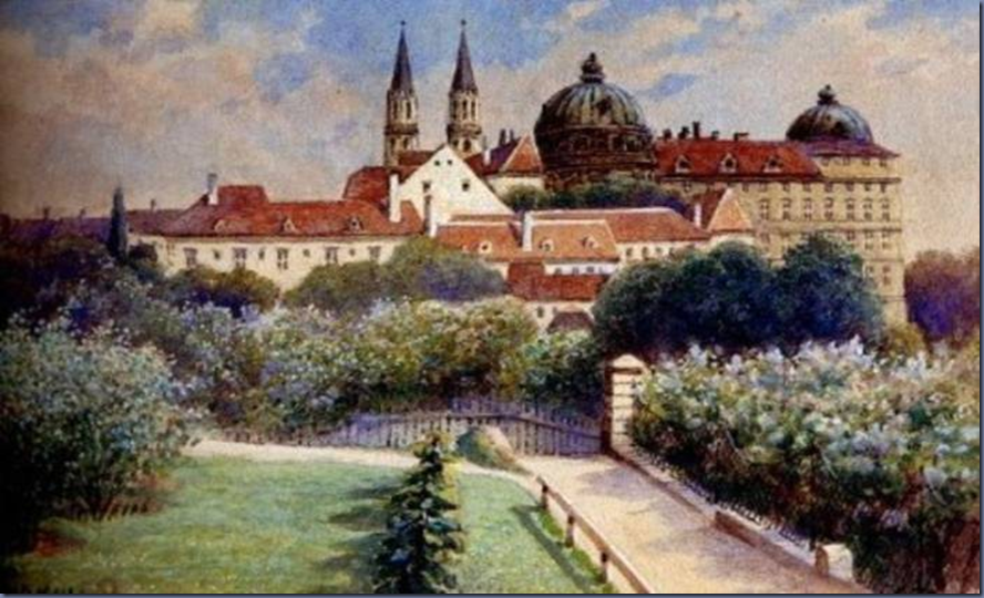 by Adolf Hitler [No.6] Young Hitler was rejected twice by the Academy of Fine Arts Vienna in 1907 and 1908. History would have been different if had pursued his talent!!