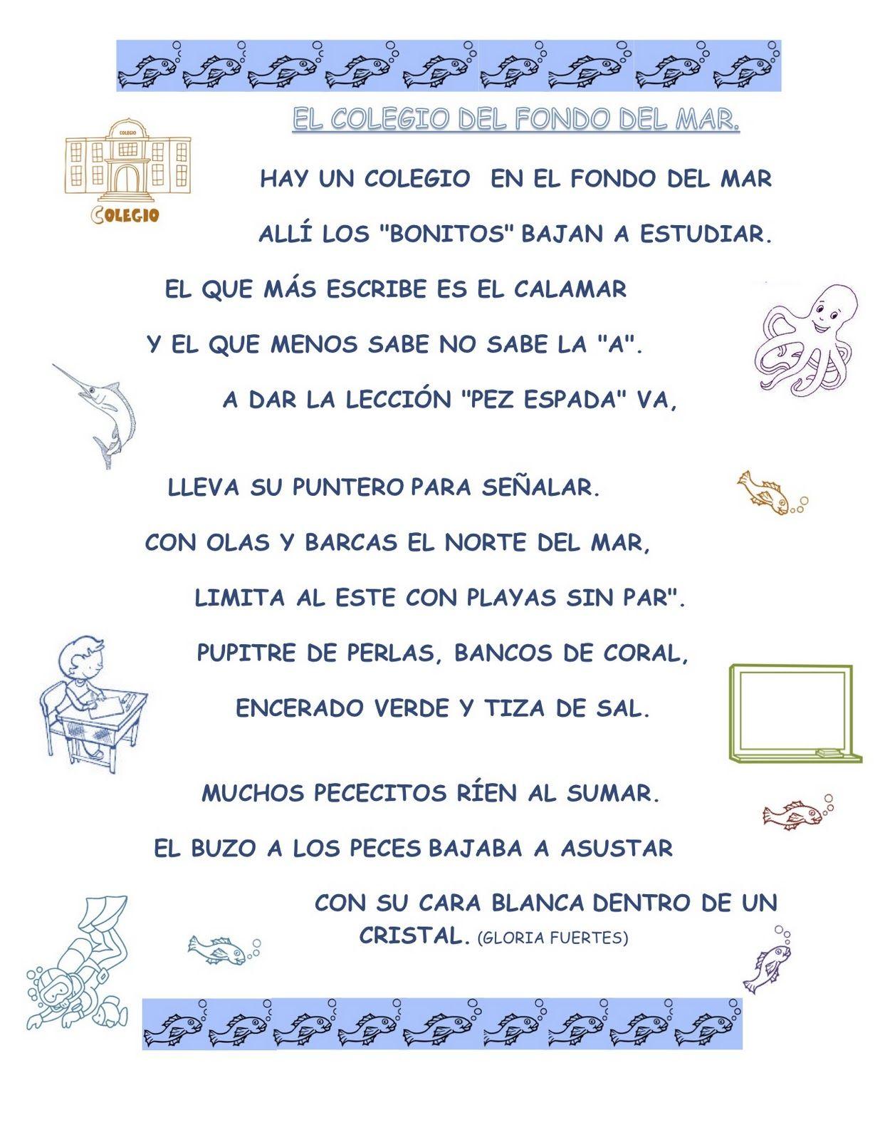 LOS PIRATAS DEL GINER: POESÍA DE GLORIA FUERTES | lectura ...