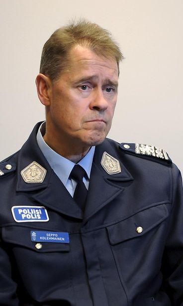 Seppo Kolehmainen on Suomen uusi poliisiylijohtaja. Copyright: Lehtikuva. Kuva: Martti Kainulainen.