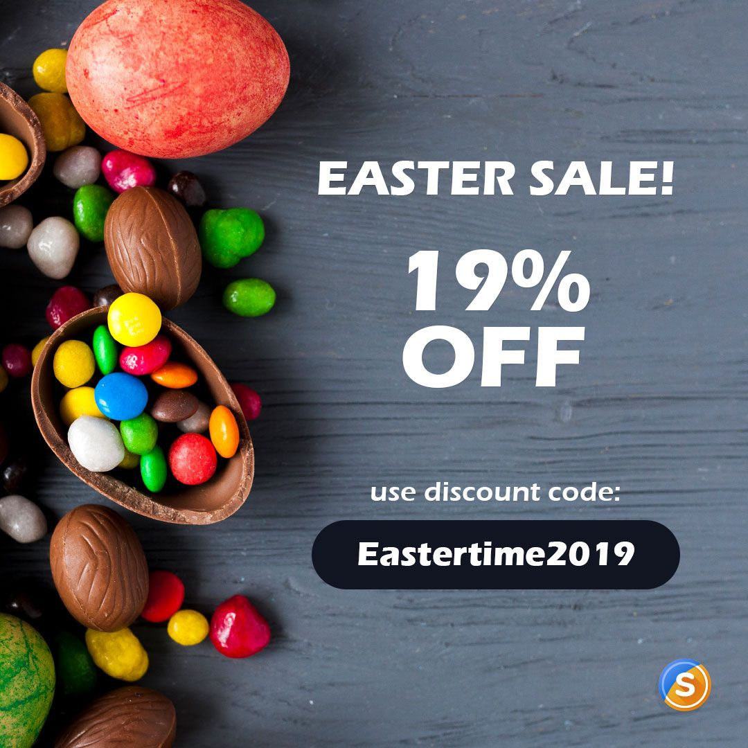 Our Team Prepared For You A Super Generous Easter Discount