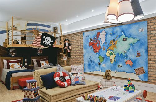 Dormitorio de pirata en pinterest decoraci n de for Dormitorios tematicos
