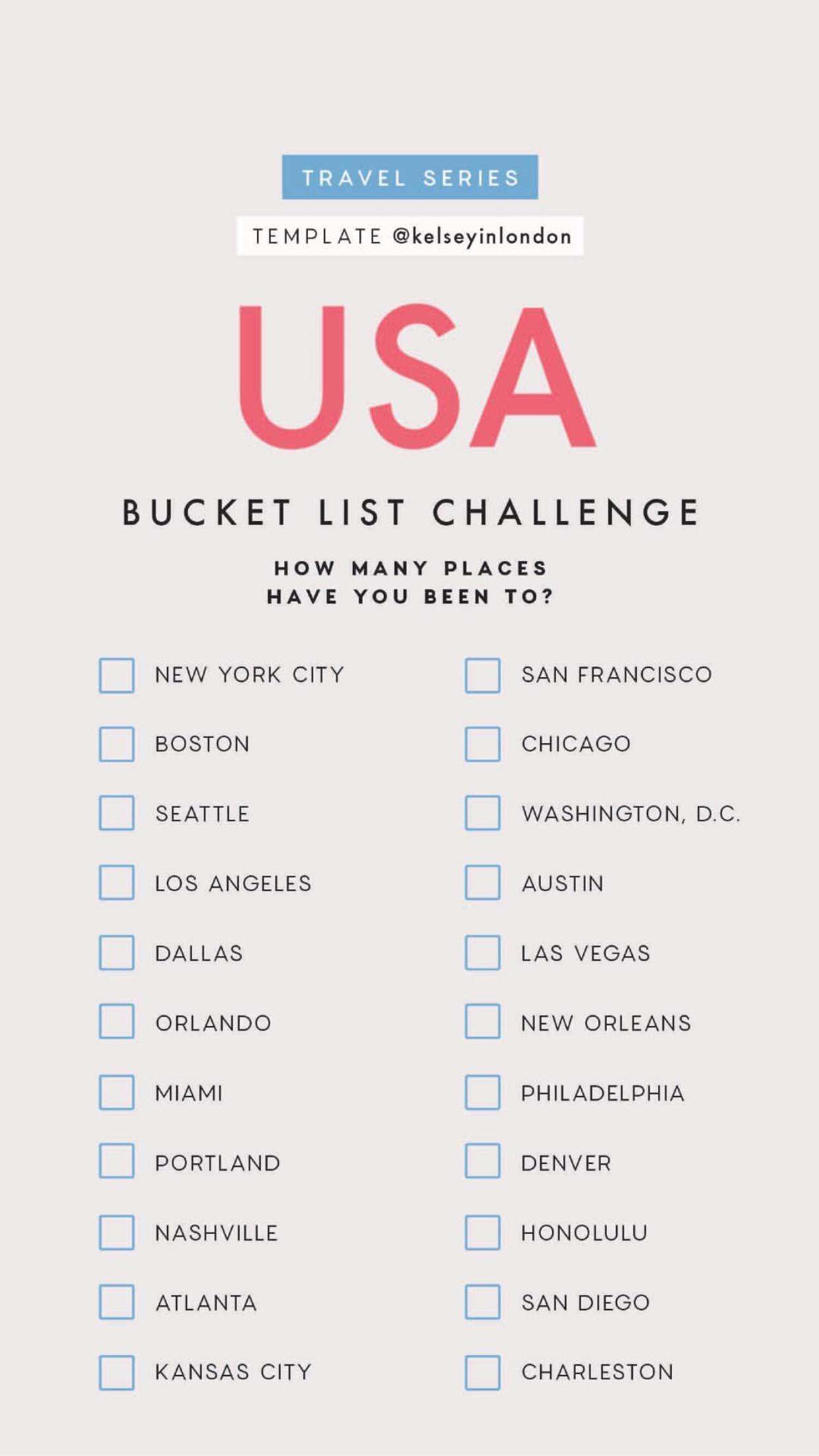 usa bucket list wanderlust in 2018 pinterest travel bucket