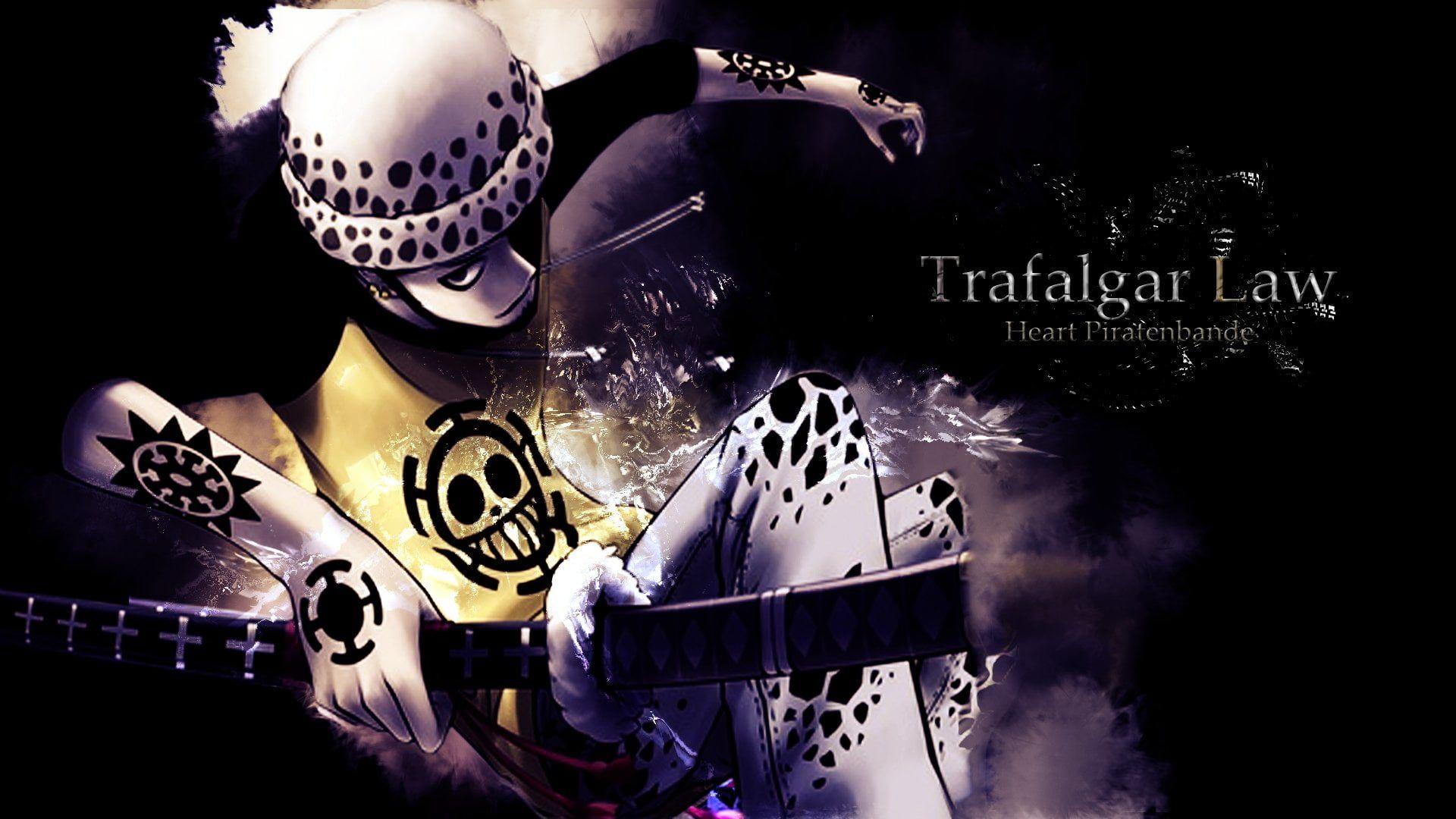 Trafalgar Law Illustration Anime One Piece Trafalgar Law 1080p Wallpaper Hdwallpaper Desktop Trafalgar Law Wallpapers Trafalgar Wallpaper One Piece