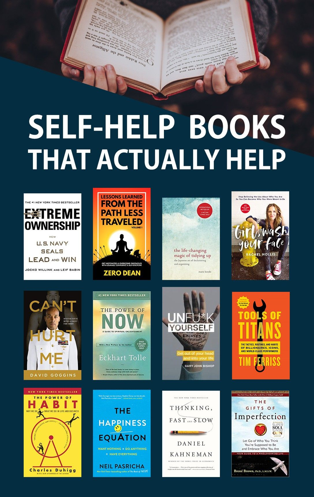 Life Changing Self Help Books With Images Best Self Help Books
