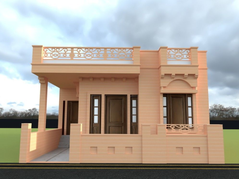 Pin by Ishaan Designs and Developers on ghadu elevation ...
