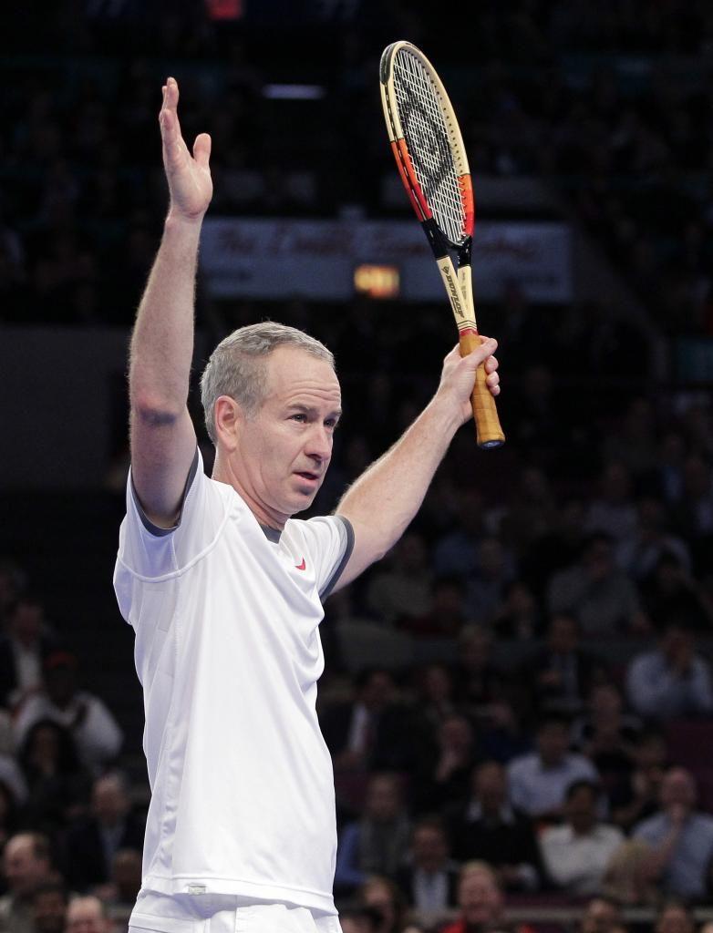 Tennis Legend John McEnroe John mcenroe, Tennis legends
