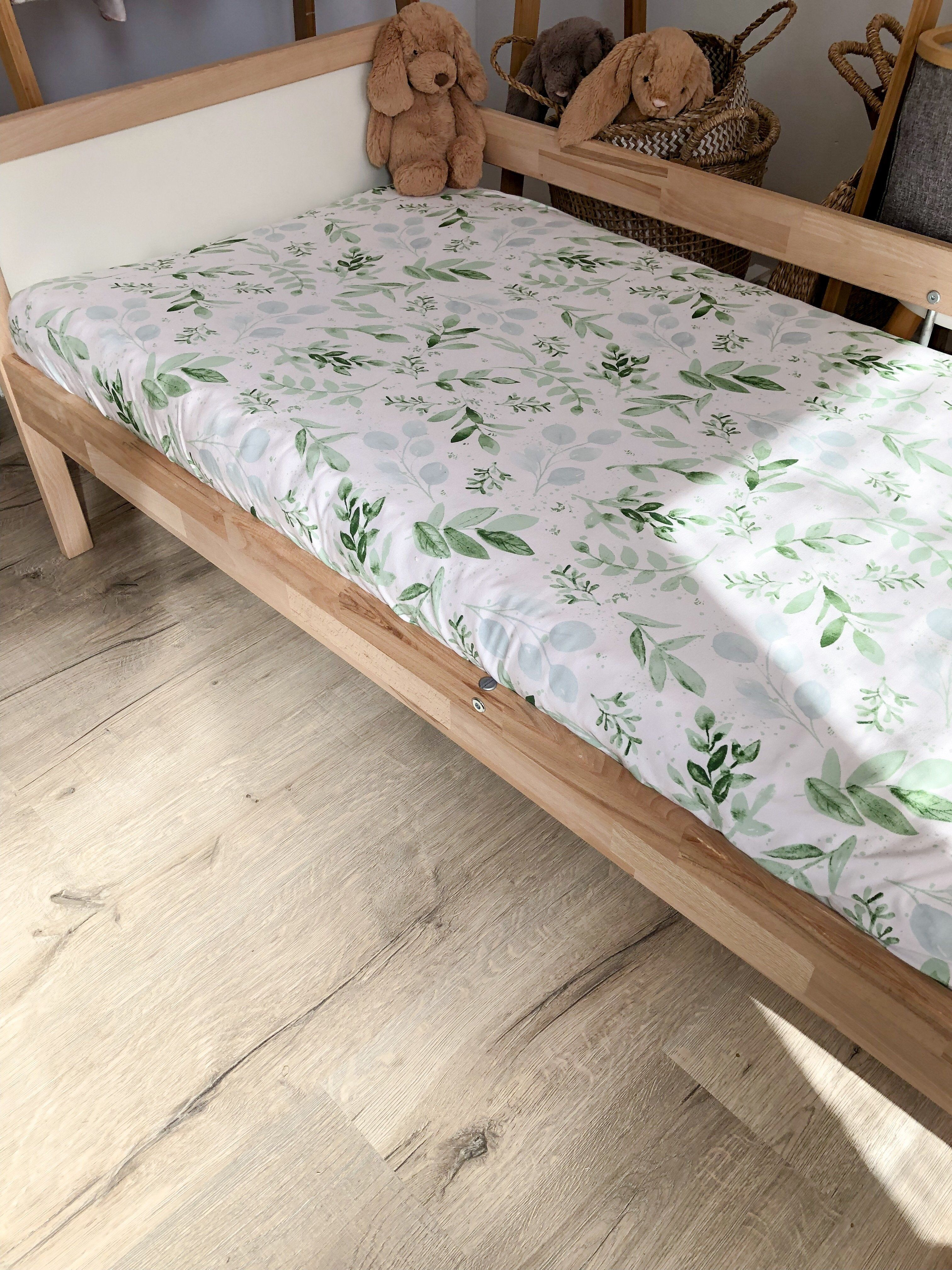 This Beautiful Bamboo Jersey Bed Sheet For Toddlers Will Look