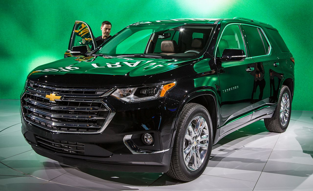 2018 New Chevrolet New Car Green Chevrolet Traverse Chevrolet Chevy