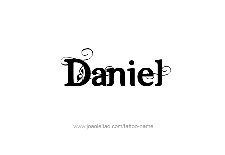 a9513cb5174dc Daniel Prophet Name Tattoo Designs | Daniel | Name tattoos, Tattoo ...