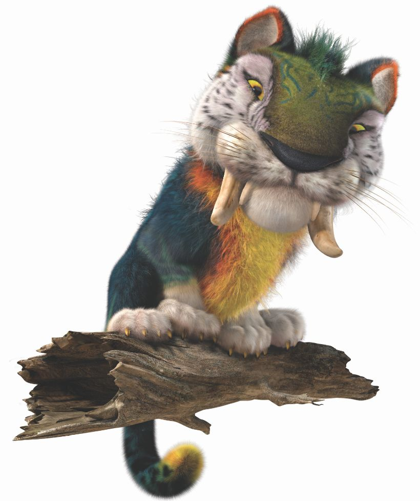 Croods cat i will make a sim cat like this sims pinterest the croods macawnivore dubbed chunky the death cat by gran is large tiger like machairodont predator voltagebd Choice Image