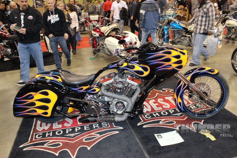 Open Class entry from Weston Choppers out of Minneapolis at the 2014 Donnie Smith Bike & Car Show.