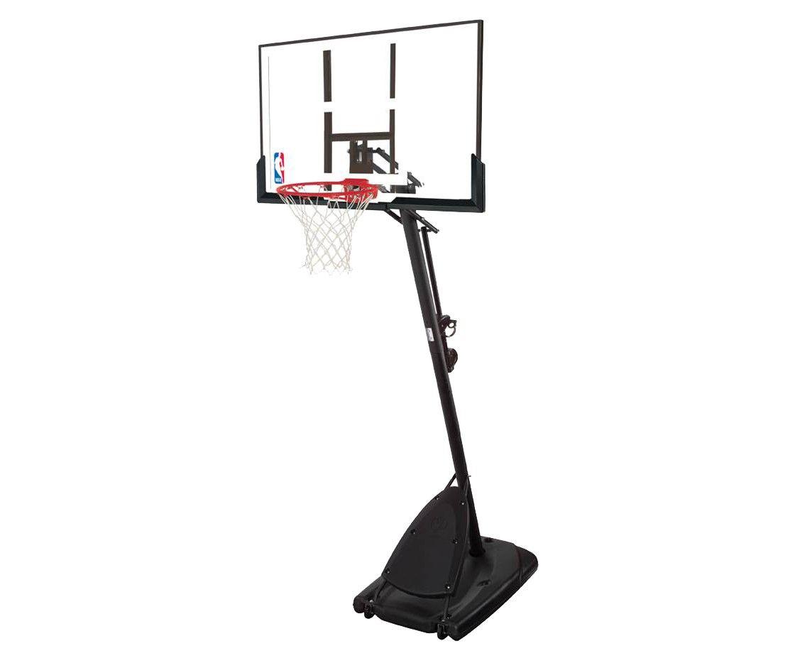 Spalding Nba 50 Polycarbonate Backboard Portable Basketball Hoop Portable Basketball Hoop Adjustable Basketball Hoop Basketball Systems