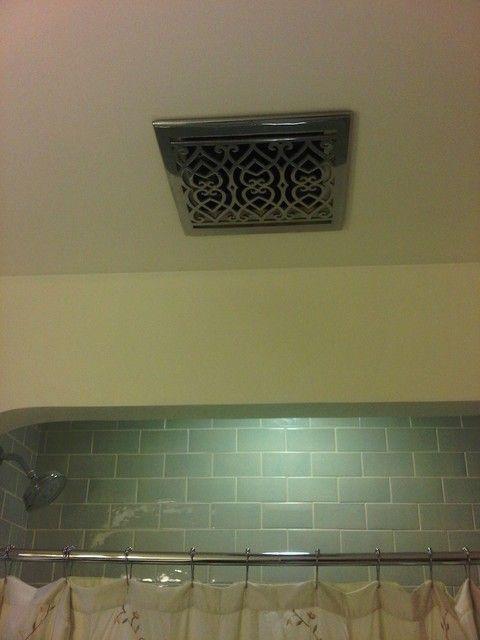 Bathroom Exhaust Fan Outside Cover