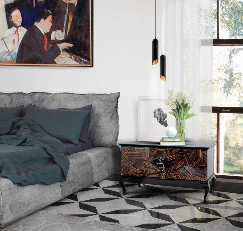 Die richtigen Nachttische für ein luxuriöses Schlafzimmer