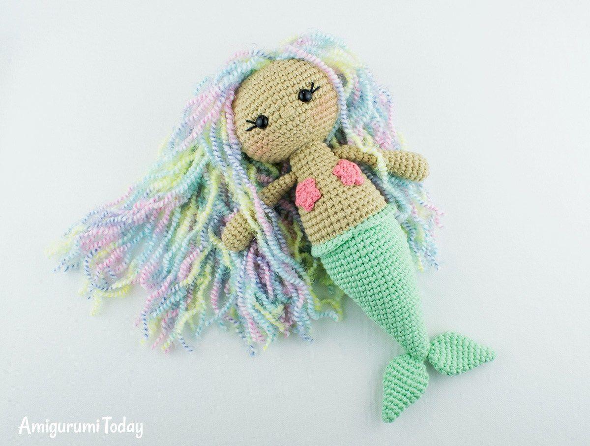 Gratis haakpatroon: ZEEMEERMIN | Patrones de crochet, Aurora y Sirenitas