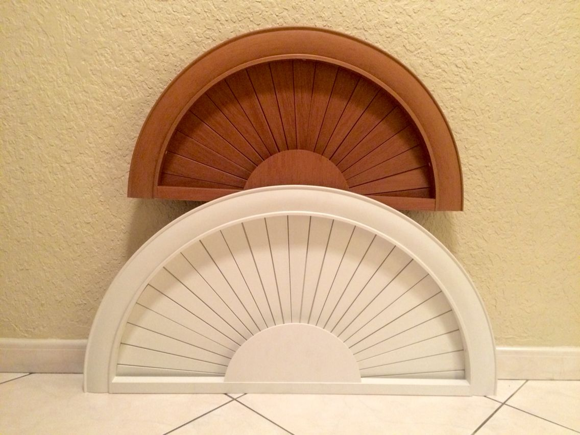 If You Are In Need Of A Decorative Window Sunburst Half