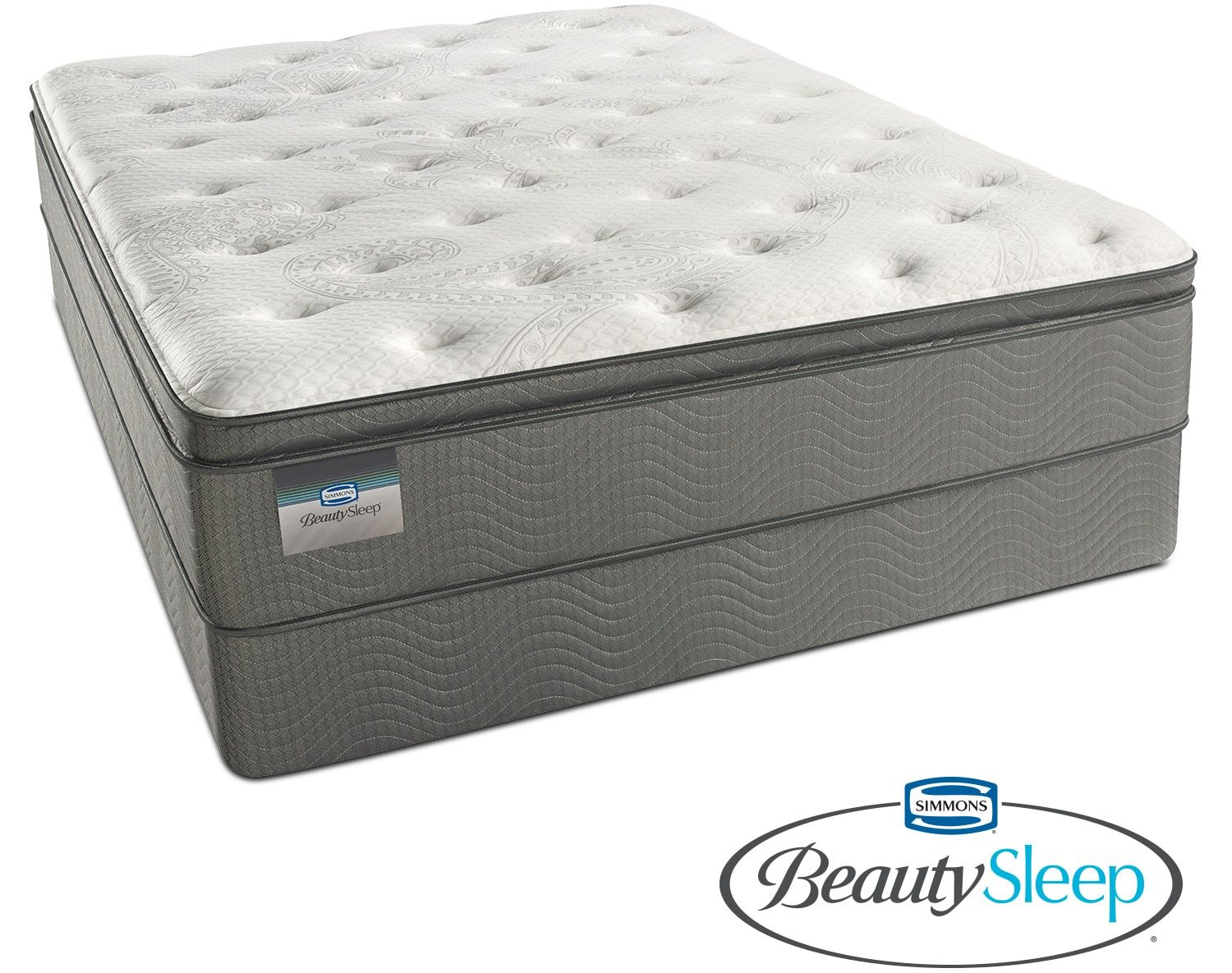 Stags Leap Luxury Firm Pillowtop King Mattress And Split Low