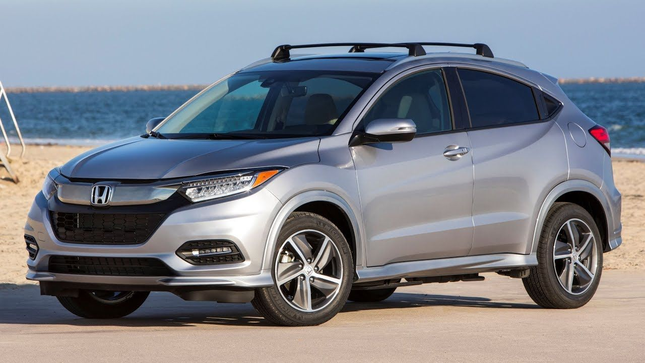 2019 Honda HRV Touring Interior Exterior and Drive