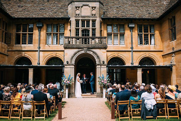 A Stunning English Country Garden Wedding In Somerset