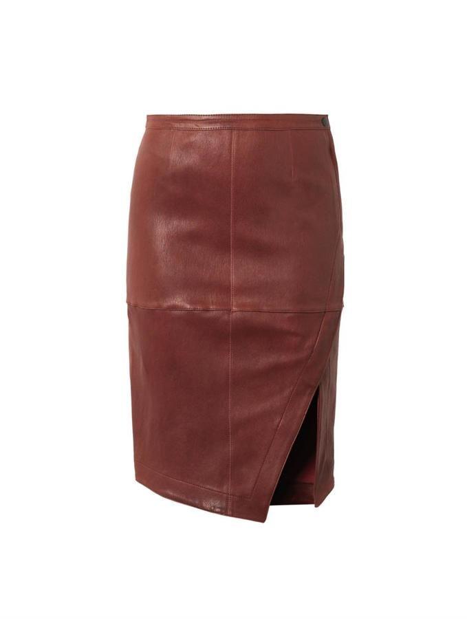 Elizabeth and James Mercy leather skirt on shopstyle.com
