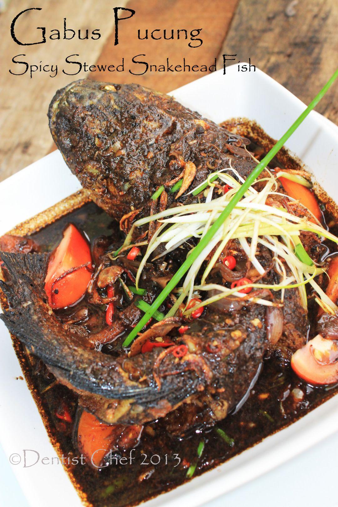 Resep Gabus Pucung Khas Betawi A Jakarta S Herritage Spicy Snakehead Fish Stew Resep Masakan Pedas Resep Kepiting Gulai