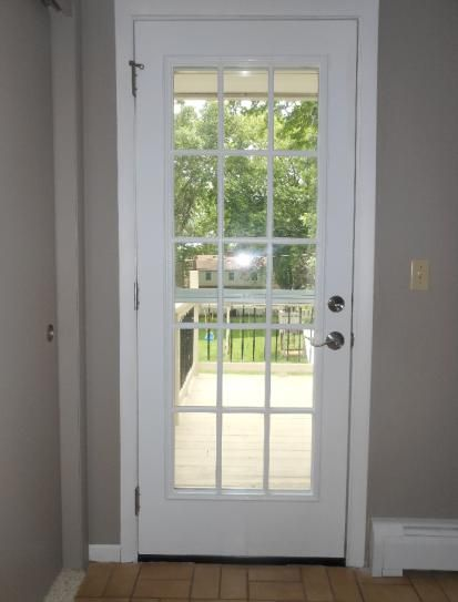 Masonite 32 In X 80 In 15 Lite Painted Steel Prehung Front Door With Brickmold 49409 At The Home Dep French Doors Exterior French Doors Interior French Doors