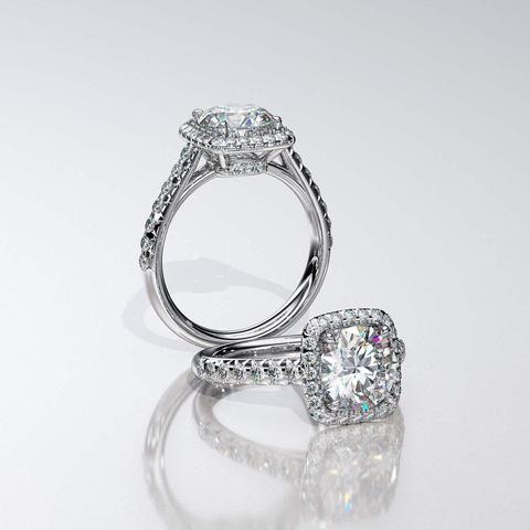 oneofakind custom design engagement rings wedding bands san diego