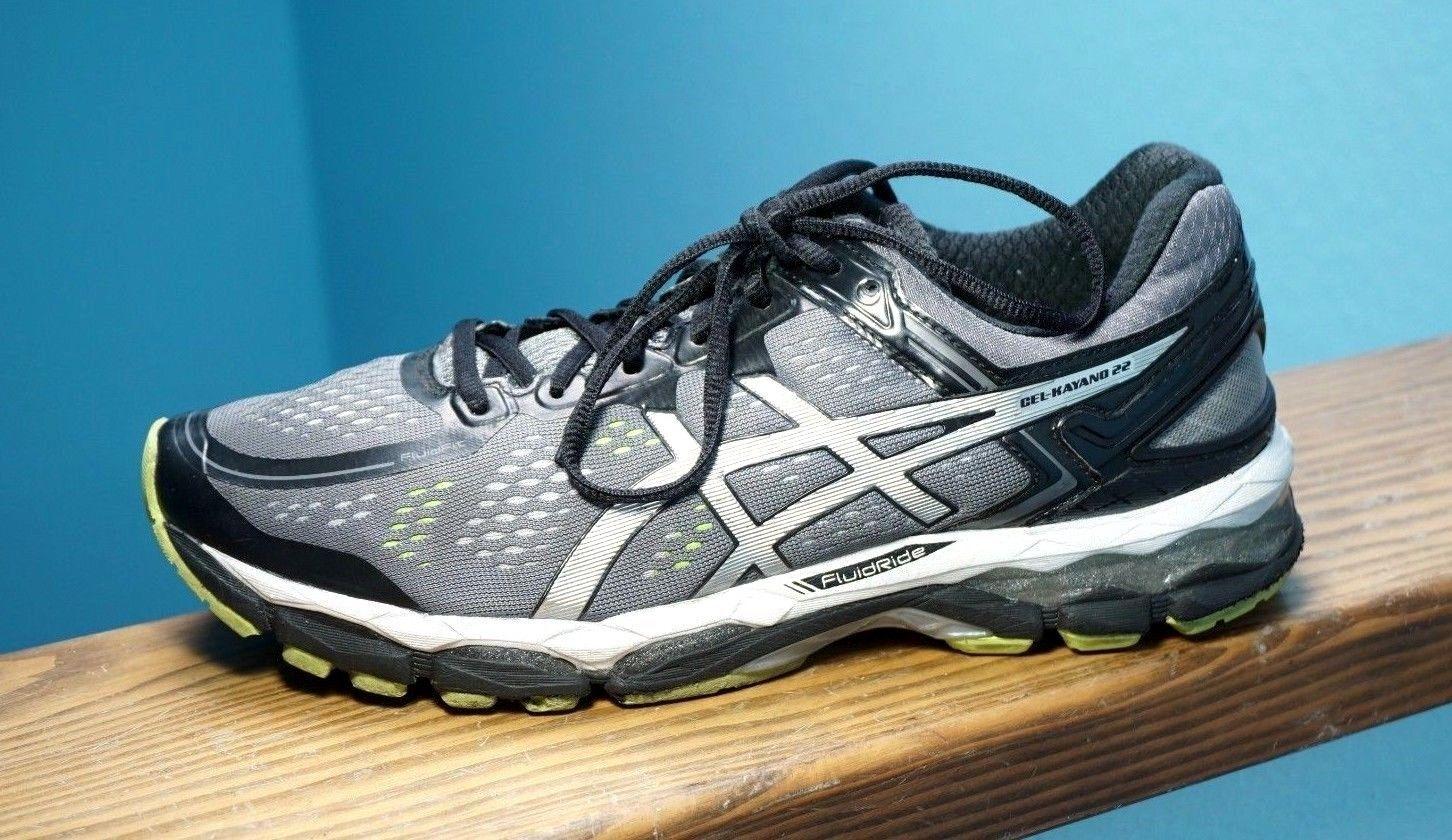 Men39s Asics Gel Kayano 22 T547n Charcoal Silver Running