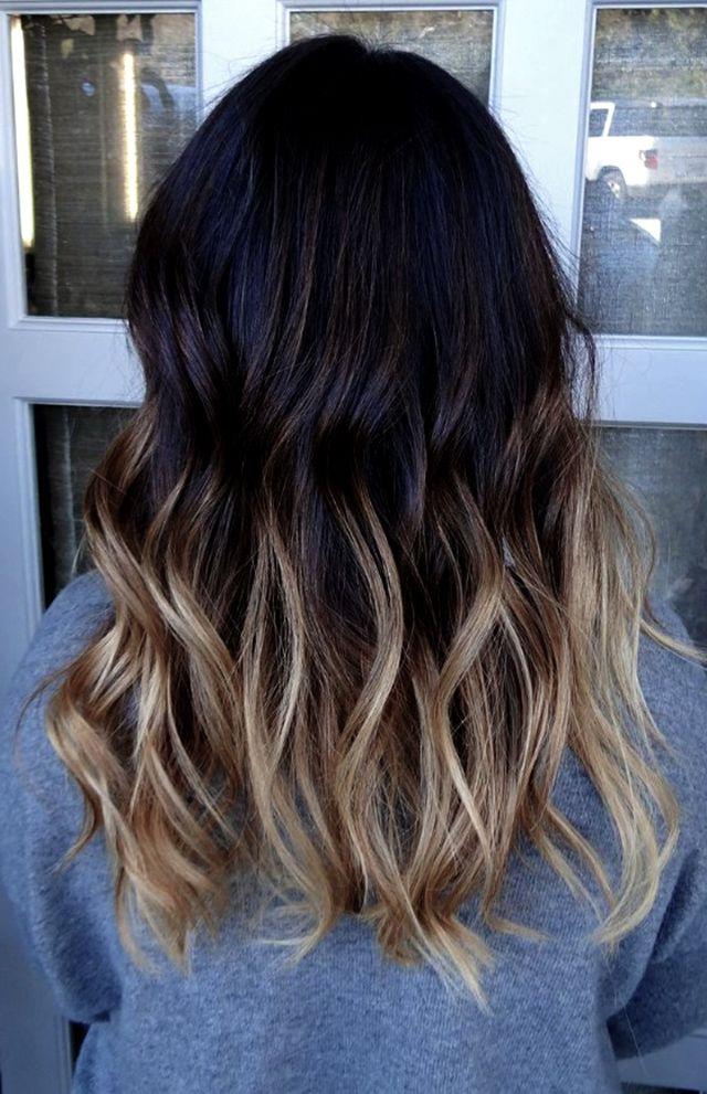 ombre hair dicas para cabelos lisos e cacheados cabelo pinterest ideias de cabelo cabelo. Black Bedroom Furniture Sets. Home Design Ideas