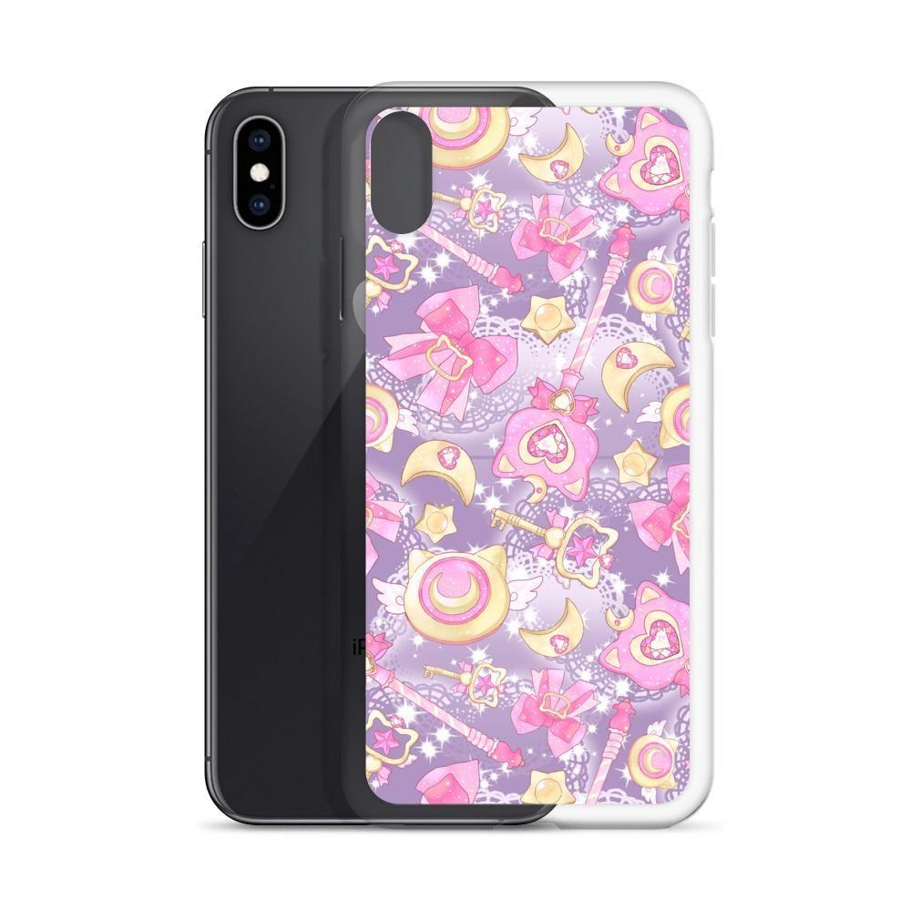 Magical Girl iPhone Case (Purple) - iPhone XS Max