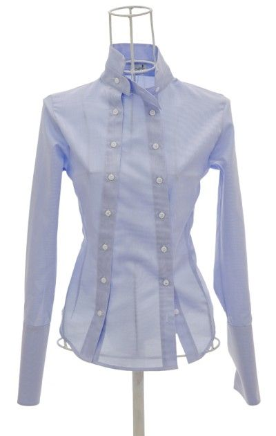 This would be a simple upcycle for a button down shirt that is too small. Simply use a second shirt of the same length, mix up the fabric for fun. This is for image only, as this shirt is for sale.
