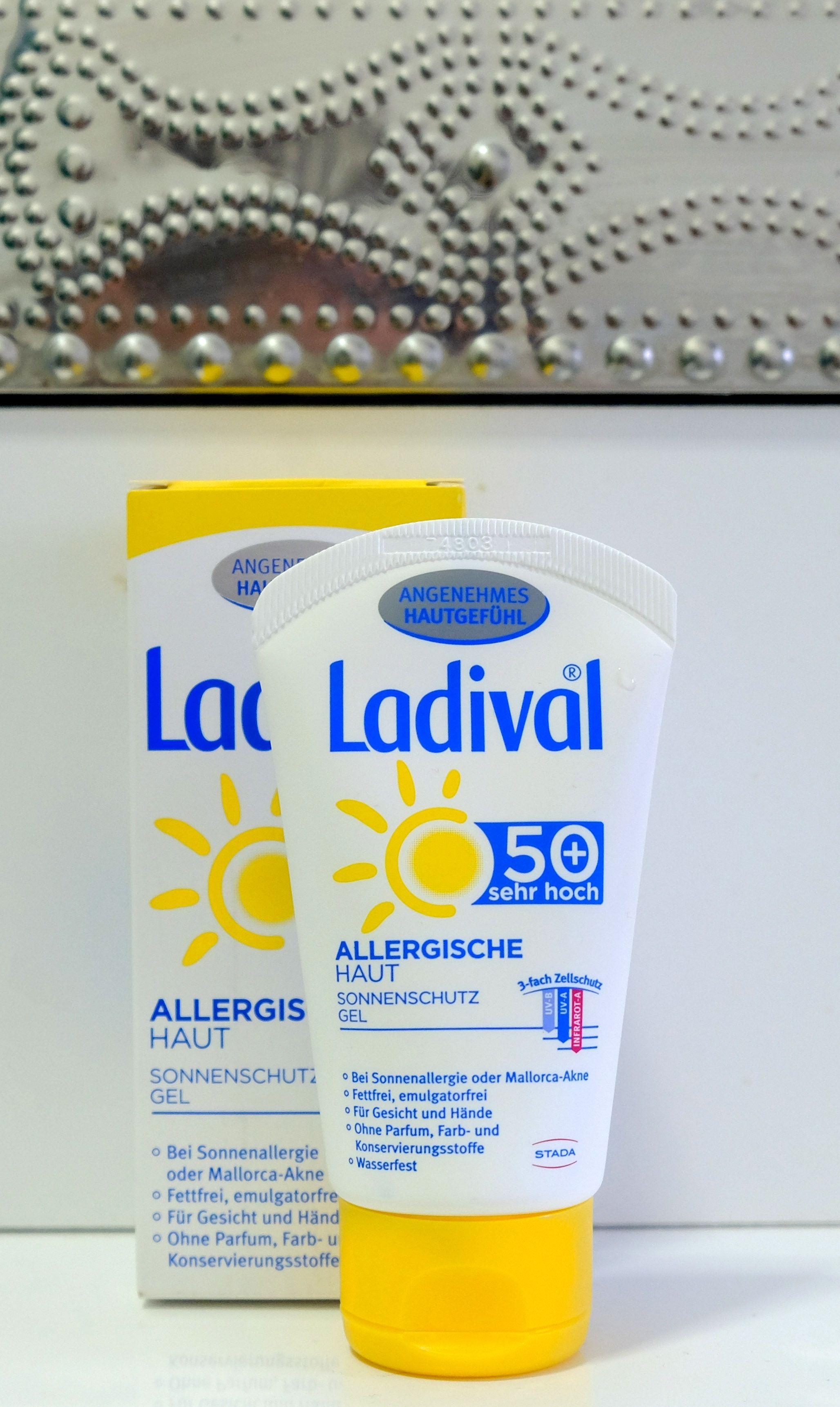 Ladival Allergische Haut Sonnenschutzgel Spf 50 Akne Gel Mallorca Akne Sonnenschutzmittel