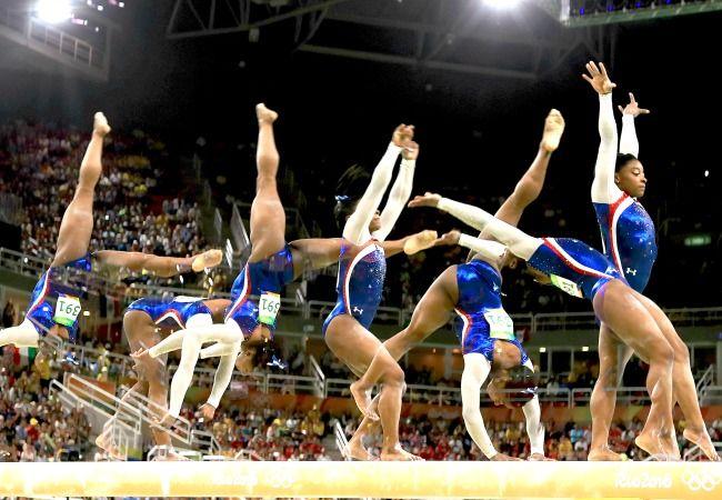 Los acrobacias m s espectaculares de gimnasia art stica en for Gimnasia gimnasia