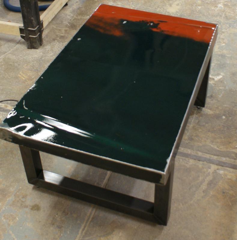 Camaro Car Hood Coffee TableDSC08583789x800 Coffee tables