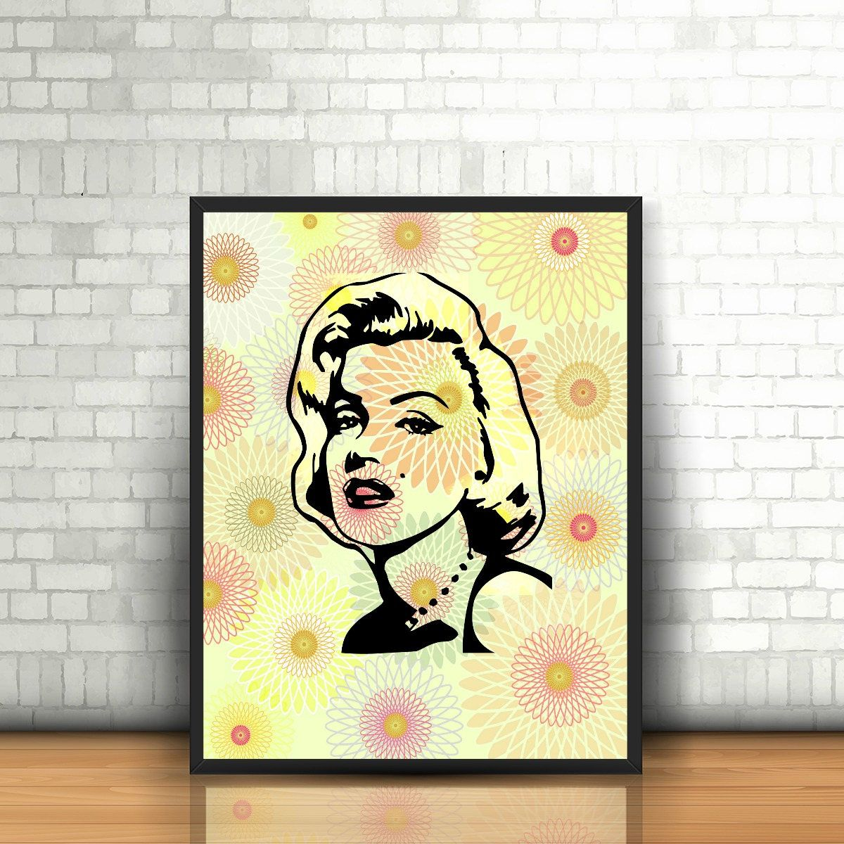 Awesome Marilyn Monroe Wall Art Motif - All About Wallart ...
