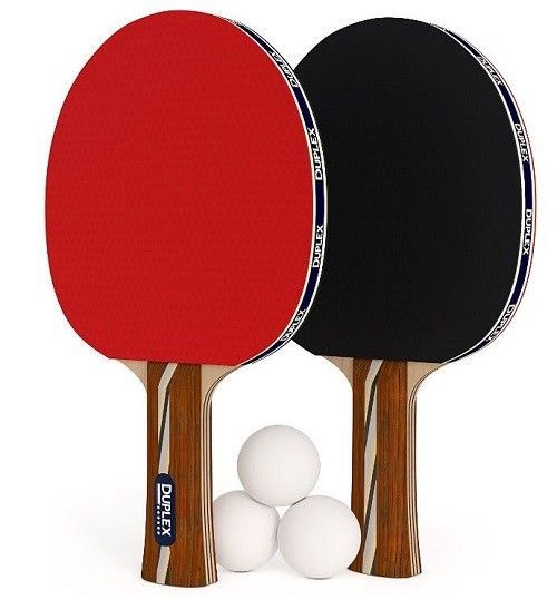 DUPLEX 6 Star Table Tennis Racket Professional Ping Pong Paddle set with High #DUPLEX  sc 1 st  Pinterest & DUPLEX 6 Star Table Tennis Racket Professional Ping Pong Paddle set ...