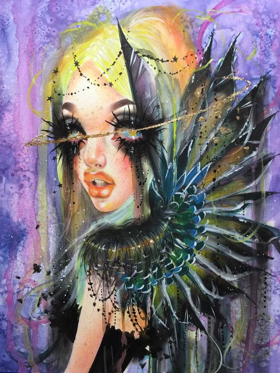 Seraphim. Original Angel Dust #4 by Dustin Bailard.