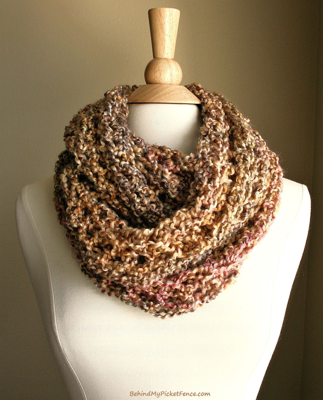 BEACHCOMBER INFINITY SCARF - Warm, soft & stylish scarf rich in ...