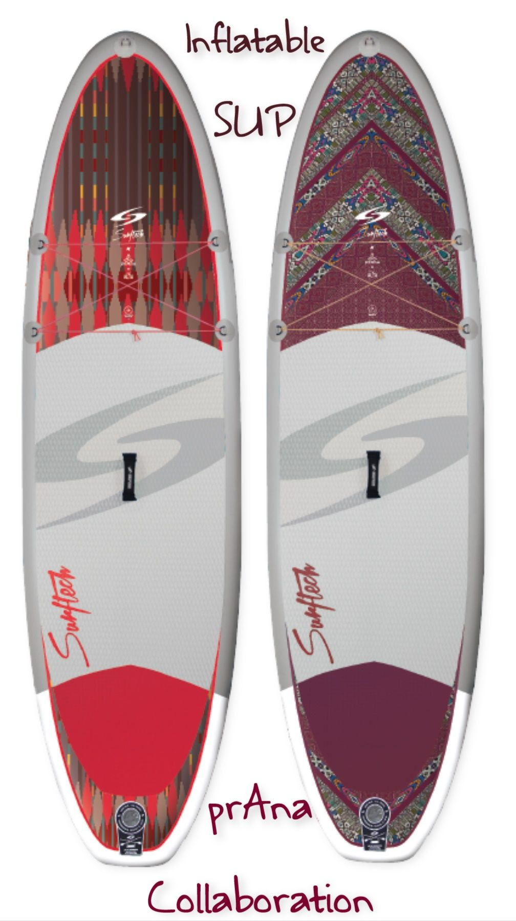 Say hello to the brand new Surftech + prAna Inflatable SUP collection!   travel  adventure  fitness 653d9238b