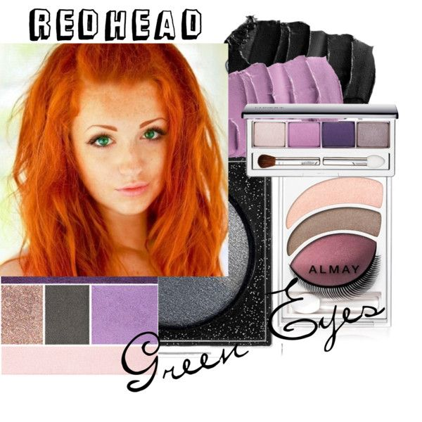 """Redhead Makeup"" by camillelavie on Polyvore ""Green Eyes"""