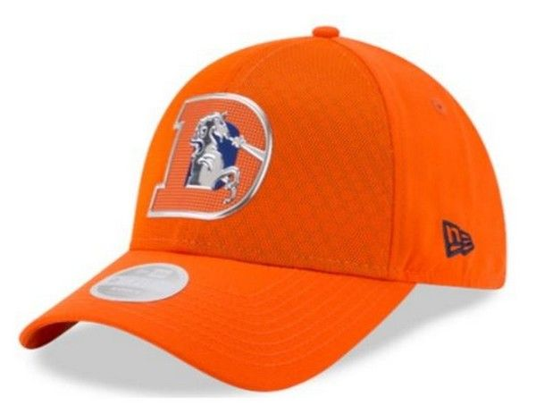half off eee48 e3fd2 New Era Womens 2017 NFL Color Rush Denver Broncos 9Forty Cap Hat OTC  11461009